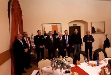 Świąteczno-noworoczne spotkanie przewoźników regionu dolnośląskiego OZPTD w Sobótce.