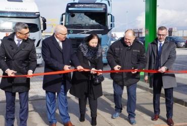 Pierwsza stacja na paliwo gazowe LNG otwarta