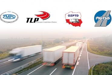 Pismo organizacji zrzeszających międzynarodowych przewoźników drogowych ZMPD, TLP, OZPTD, PIGTSiS